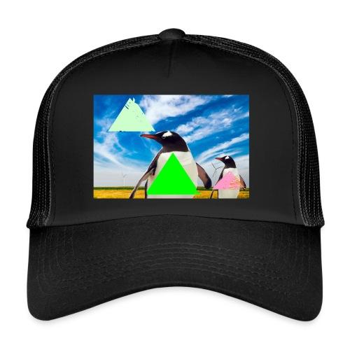 ultra_mega_h--ftig_pingvin_med_yolo_man_swag - Trucker Cap