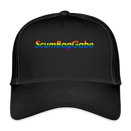 ScumBagGabe Multi Logo XL - Trucker Cap