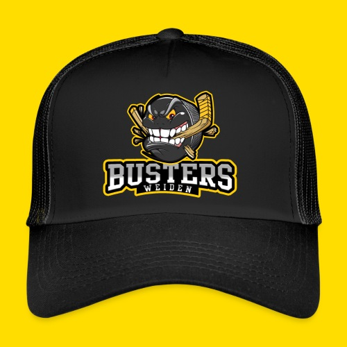 Busters Fun Shirt - ANGRY PUCK - Trucker Cap