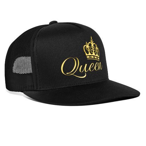 Queen Or -by- T-shirt chic et choc - Trucker Cap
