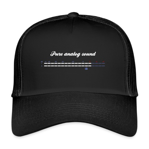 digital VU meters - Trucker Cap