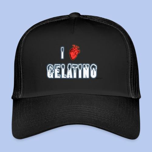 PuntoACapo - I ♥ Gelatino- - Trucker Cap
