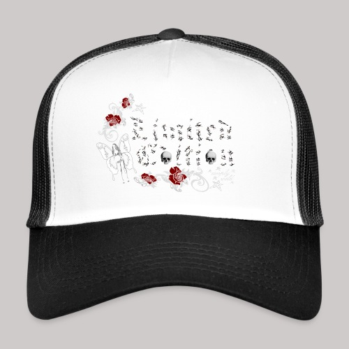 simply wild limited edition on black - Trucker Cap