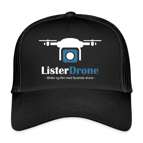 ListerDrone logo - Trucker Cap
