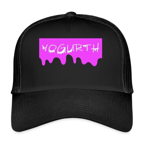 YOGURTH BOX LOGO - Trucker Cap