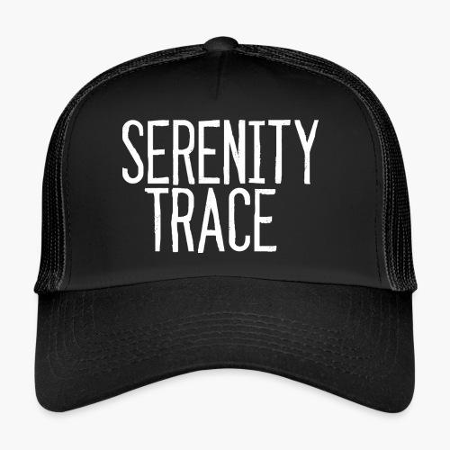 Serenity Trace LOGO W - Trucker Cap