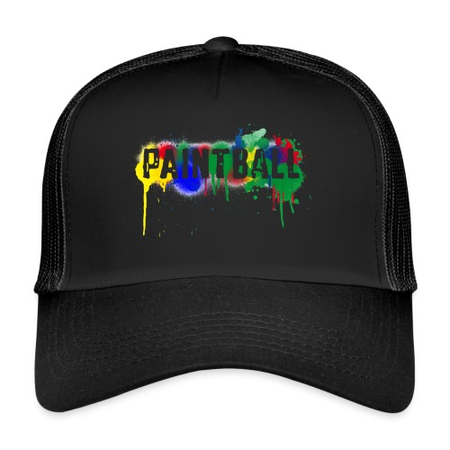color_paintball - Trucker Cap