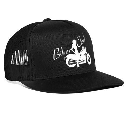 Biker Chick - Custom bike - Trucker Cap