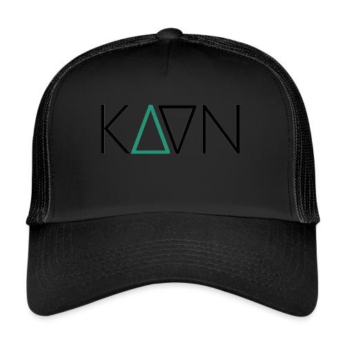 kaan logo 1600px - Trucker Cap