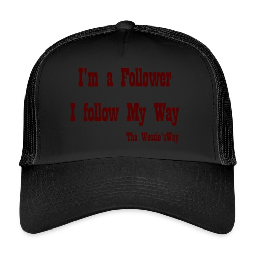I follow My Way Brown - Trucker Cap