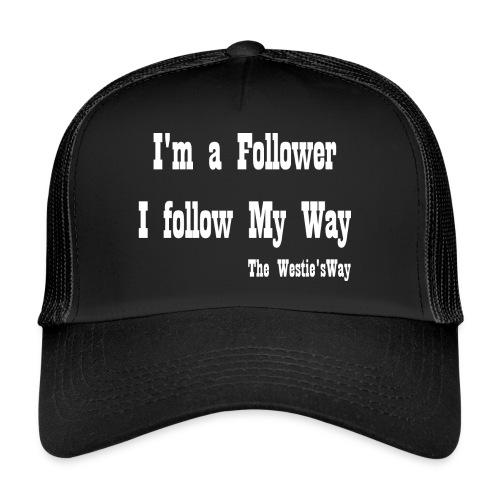 I follow My Way White - Trucker Cap