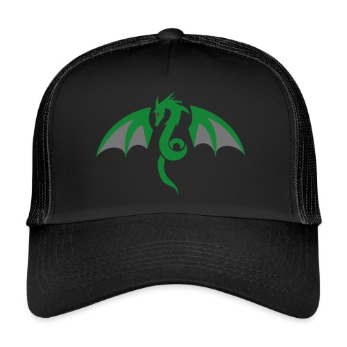 Red eyed green dragon - Trucker Cap