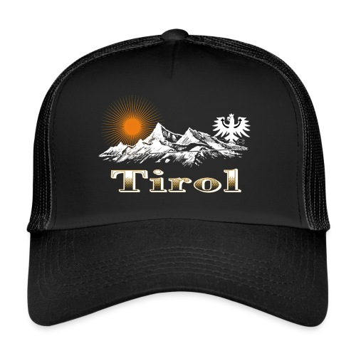 Tiroler Berge - Trucker Cap