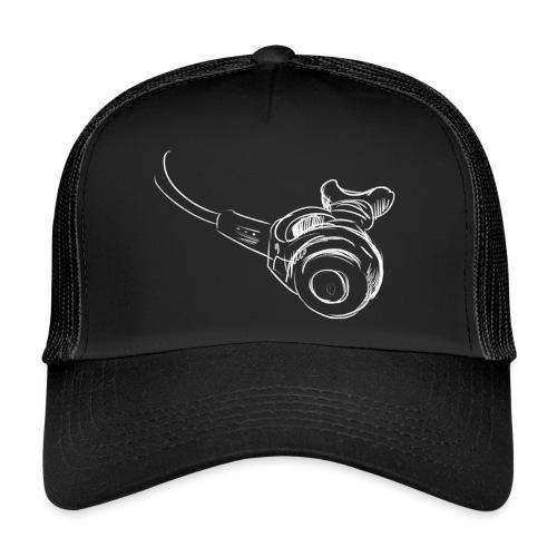 Atemregler weiss - Trucker Cap