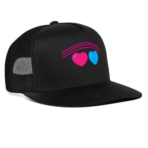 Das Design mit Herz - Trucker Cap