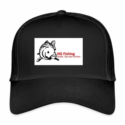 ng fishing logo new - Trucker Cap