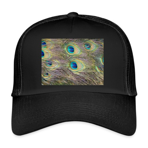 Peacock feathers - Trucker Cap