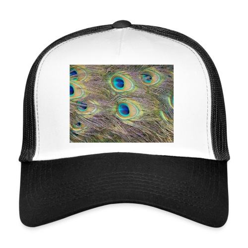 Peacock feathers - Trucker Cap