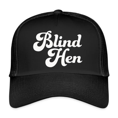 Blind Hen - Logo Lady fit premium, black - Trucker Cap