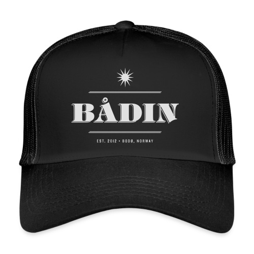 Bådin - black - Trucker Cap
