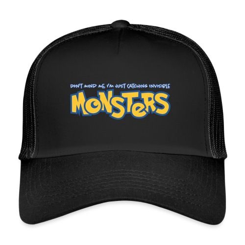 Monsters - Trucker Cap