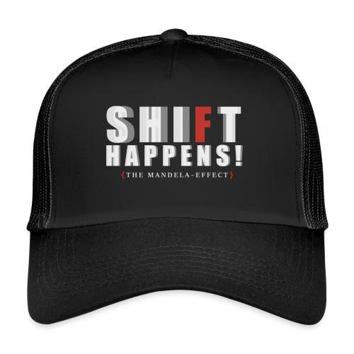Shift Happens red F - Trucker Cap