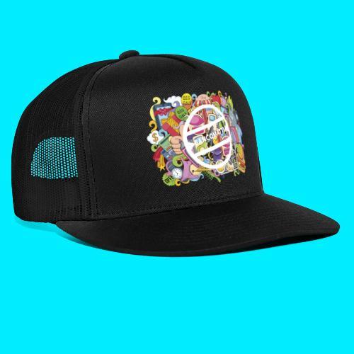 maglia logo doodle - Trucker Cap