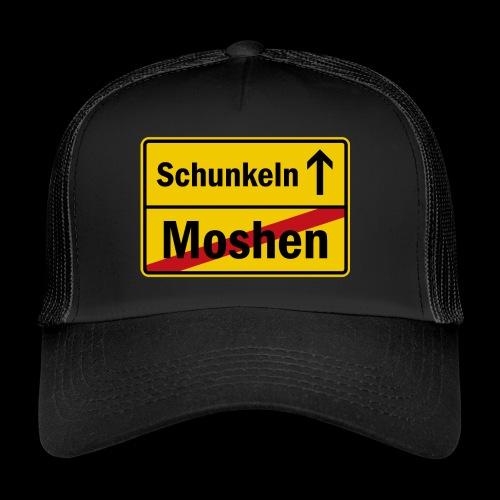 moshen vs. schunkeln - Trucker Cap
