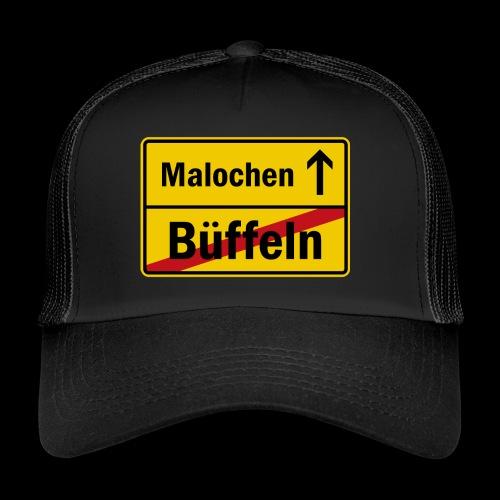 bueffeln vs. malochen - Trucker Cap