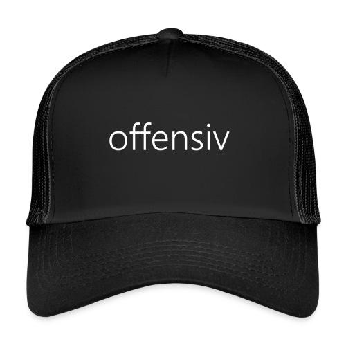 offensiv t-shirt (børn) - Trucker Cap
