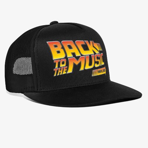 Back to the music Vinyl Edit - Trucker Cap