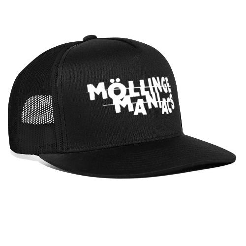 Möllinge Maniacs Vit logga - Trucker Cap