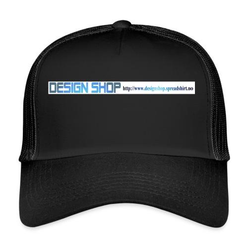 ny logo lang - Trucker Cap