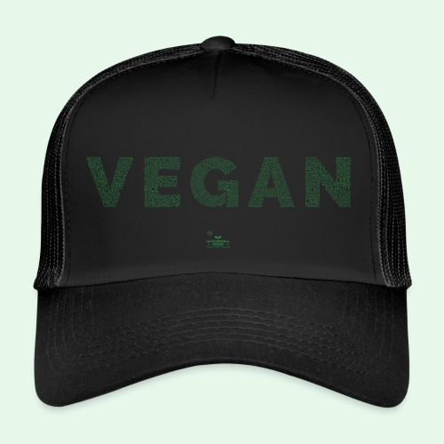 Vegan - Green - Trucker Cap