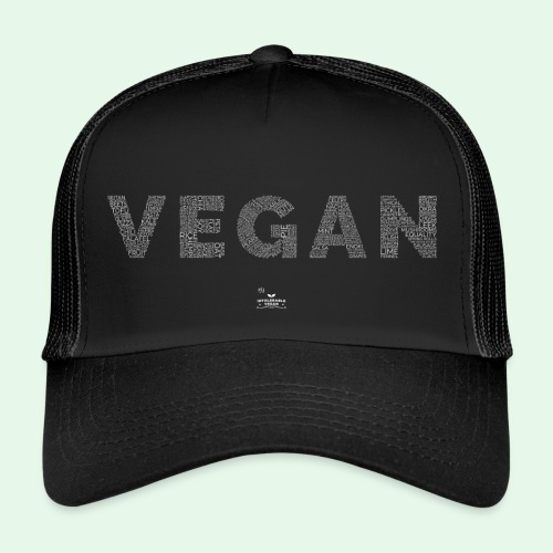 Vegan - White - Trucker Cap
