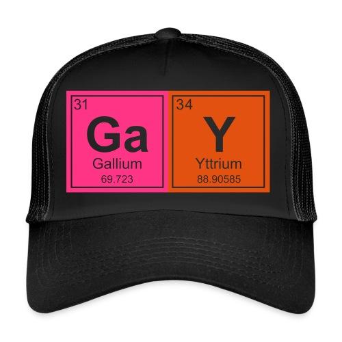 Geeky Gay Periodic Elements - Trucker Cap