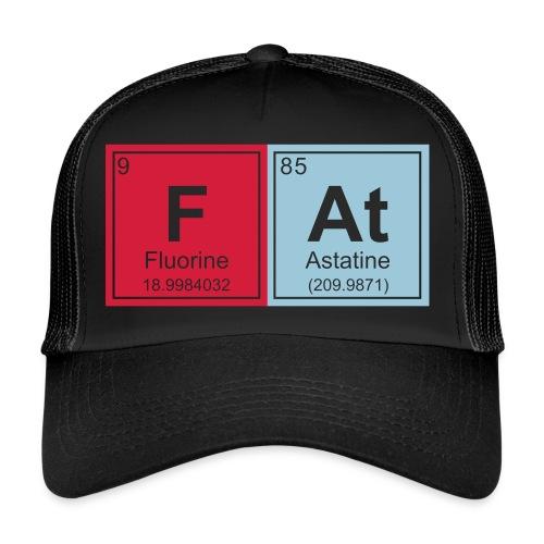 Geeky Fat Periodic Elements - Trucker Cap