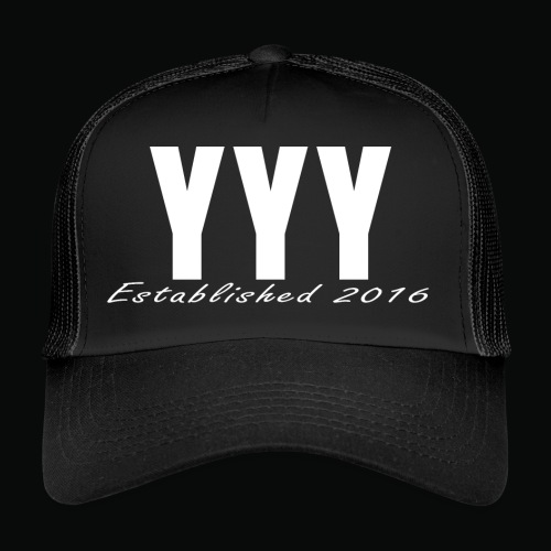 'Snapback Edition' YYY Apparel Design - Trucker Cap