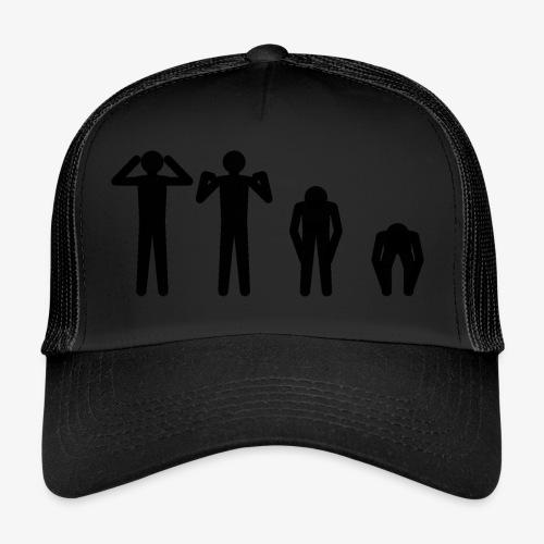 Hode, skulder, kne og tå - Trucker Cap