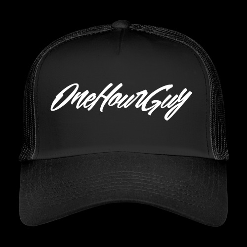 OneHourGuy Logo Italic - Trucker Cap