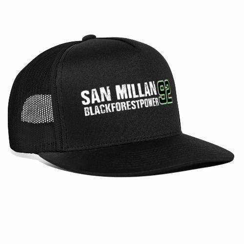 San Millan Blackforestpower 92 - Trucker Cap