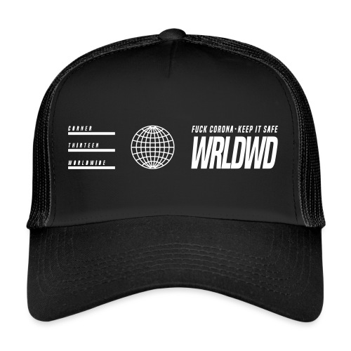 SEASON 2 WRLDWD 1/2 - Trucker Cap