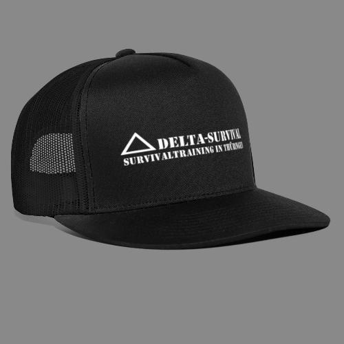 logo2015 weiß - Trucker Cap