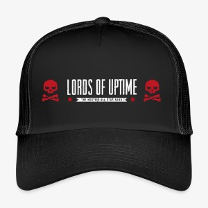 Lords of Uptime 2 Skulls - Trucker Cap