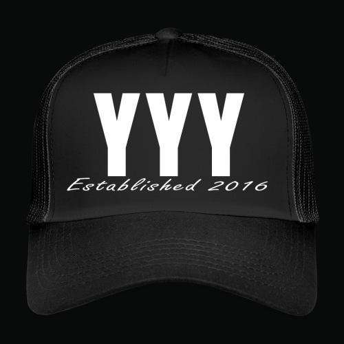 'Snapback Edition' YYY Apparel Design - Trucker Cap