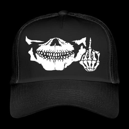 DJ SKULL LOGO - Trucker Cap