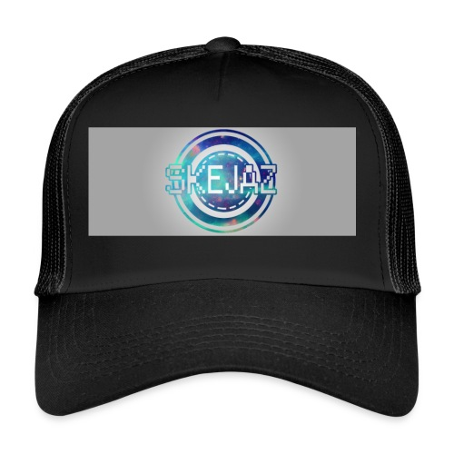 LOGO WITH BACKGROUND - Trucker Cap