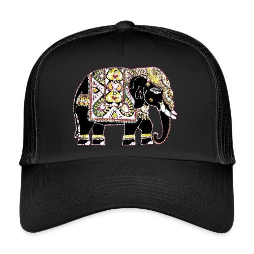 Indian elephant for luck - Trucker Cap