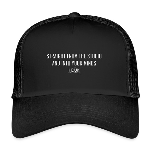 The HDUK Podcast - Straight from the Studio - Trucker Cap