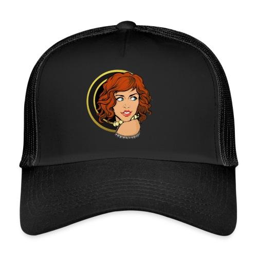 Portrait féminin N&Or - Trucker Cap